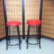補強付き丸椅子(カウンター用)